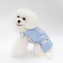 Креативный стоячий воротник с двойной молнией, теплая осенне-зимняя куртка для щенков, пальто, однотонная хлопковая дышащая куртка для собак