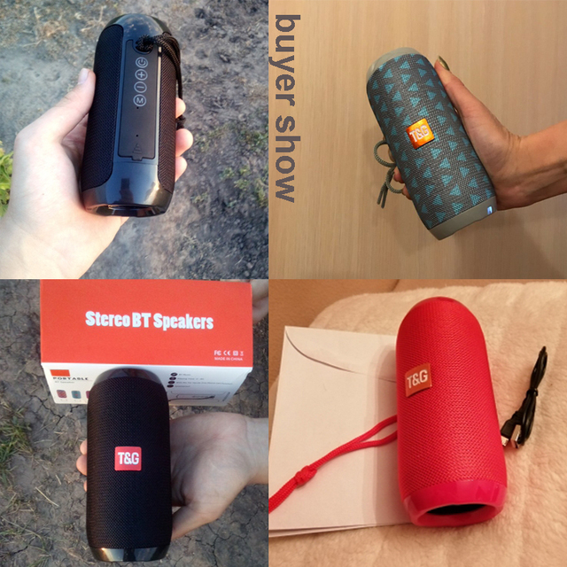 Wireless Bluetooth Speaker Column Portable Speaker Altavoz Bluetooth Soundbox 10W Outdoor with TF Card FM Radio for MIC Audio Speakers Consumer Electronics Electronics Speakers