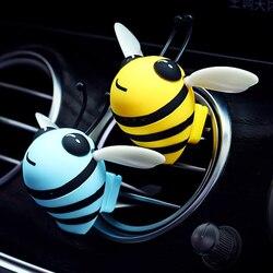 Diffuseur de parfum pour voiture, désodorisant créatif abeille, Clip de sortie de Ventilation, décoration intérieure, parfum de voiture, déodorant