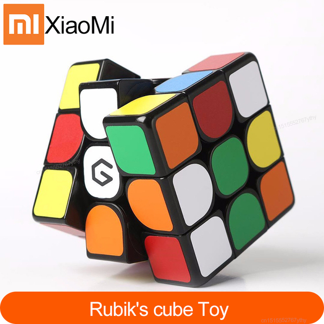 Original Xiaomi Giiker Magnetic Cube M3 Square Smart Cube App remote Control Portable Intellectual Development Toy Puzzles H20