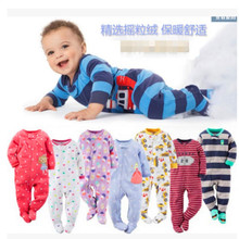 Climbing-Clothing Romper Foot-Warm-Pajamas Girls Baby Boys Children And Fleece with Leotard