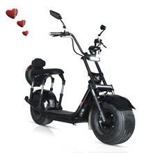 【 K1-039 】Electric Scooter Citycoco Deux Roues Scooter Électrique Grande Roue Scooter Électrique 60V Avec Siège Peut Travel80KM