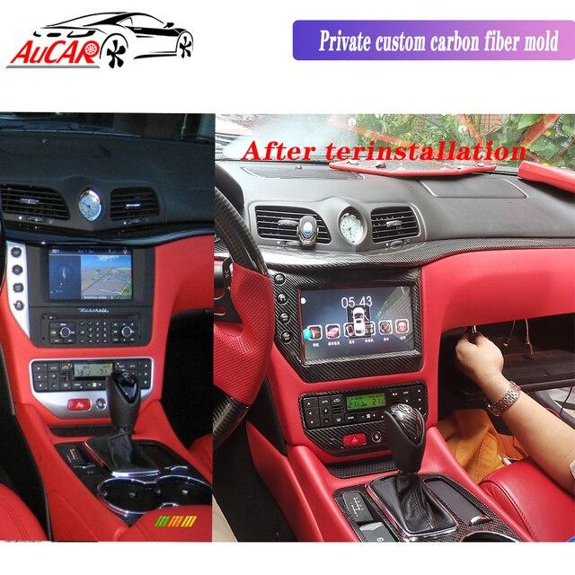 "AuCAR 9"" Android 8.1 DIN Car Radio for Maserati GT/GC GranTurismo 2007 - 2019 GPS navigation multimedia Stereo Audio DVD player 1"