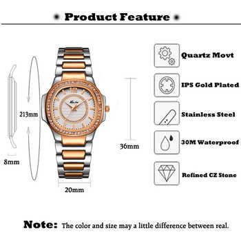 MISSFOX Best-seller Watch Women Waches Uhr Rose Gold Fashion Casual Ladies Wrist Watch Xfcs Dropshipping 2020 Quartz Wristwatch