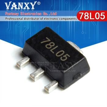 20PCS 78L05 SOT89 SOT SMD SOT-89 Triode new and original - sale item Active Components