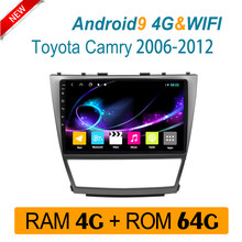 Auto-multimedia-Player Für TOYOTA camry 2006 2007 2008-2012 auto radio 4 GRAMM DVD stereo system IPS split bildschirm carplay Android(China)