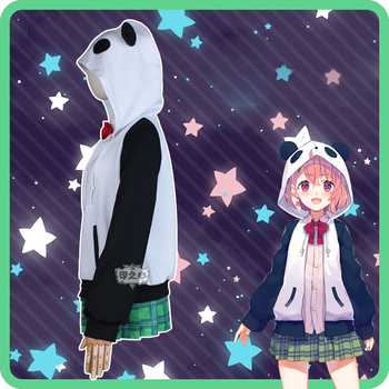 Hololive VTuber GAMERS YouTuber Sasaki Saku Cosplay Costumes Women Casual Outfits Top Skirts Coat Halloween Uniforms Custom Made 4
