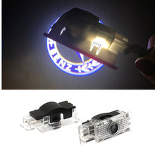 2X Car Door Warning Light Logo Projector LED For Mercedes Benz W203 C-Class 2001-2007 C Class SLK CLK SLR R171 R199 W209 W240 цена в Москве и Питере