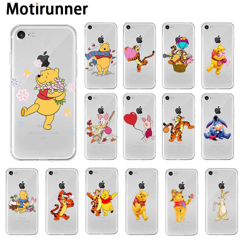 PIGLET TIGGER Thin Case Cover iPhone