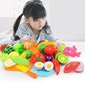 子供のキッチンのおもちゃプラスチックの果物や野菜をカット veget フルーツおもちゃふり食品ピザキッチン子供のおもちゃ
