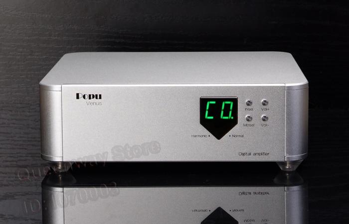 Venus pure digital amplifier HIFI amplifier support DSD128 160W+160W 4ohm 24Bit/32KHz-192KHz 0 static midpoint voltage
