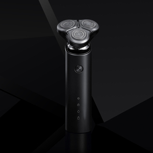 Image 2 - Xiaomi Mijia Electric Shaver Razor Shaving Beard Machine for Men Dry Wet Beard Trimmer Rechargeable washable 3D head Dual Blades