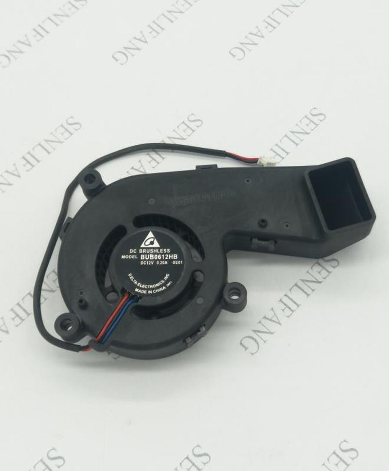 FOR BUB0612HB D825mX DC 12V 0.20A 3-wire Server Projector Cooler Fan