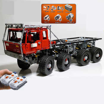 In Stock DHL 23012 2839Pcs Genuine Technic Series The Arakawa Moc Tow Truck Tatra 813 Educational Building Blocks Bricks To - DISCOUNT ITEM  16% OFF All Category