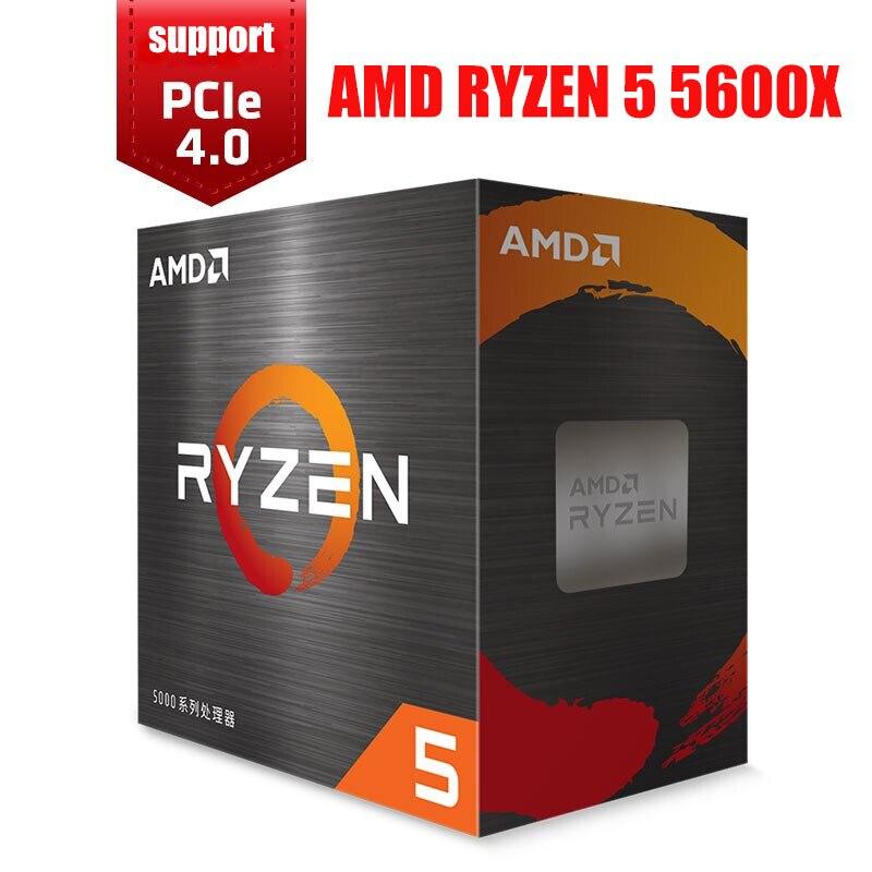 [해외] AMD RYZEN 5 5600X 데스크탑 프로세서  3.7GHZ 32M 캐시 65W 7NM 6 코어 - AMD RYZEN 5 5600X