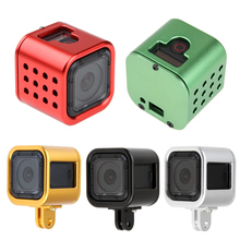 Aluminum Frame Housing Case Protective Rugged Cage for Gopro 5 session/4 session Mental Mount for Gopro Session Camera Accessory