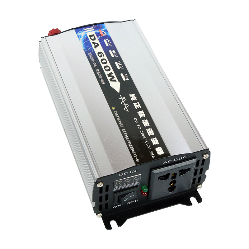 Inverter 12V/24V/48V/60V 220V 2000W/3000W portable car power inverter PV inverter charger converter adapter modified sine wave