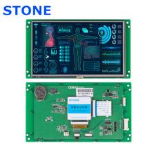 7.0 Inch HMI Display TFT LCD Module With RS232 Port InHome Control System