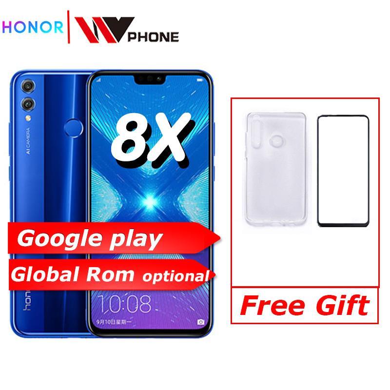 Play Store  Honor 8X 6.5'' Full Screen OTA Update Smartphone Not 8x Max Mobile Phone Android 8.1 Octa Core Fingerprint ID