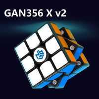 Newest Original Gan356 X V2 3x3x3 Magnetic Numerical IPG Professional GAN 356 X Updated 3x3 Magic Speed Cube Educational Toys