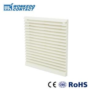 Набор вентиляционных фильтров для шкафа, жалюзи, крышка, решетка вентилятора, вентиляционная система, вентиляторный фильтр, FK-3321-230 с вентилятором