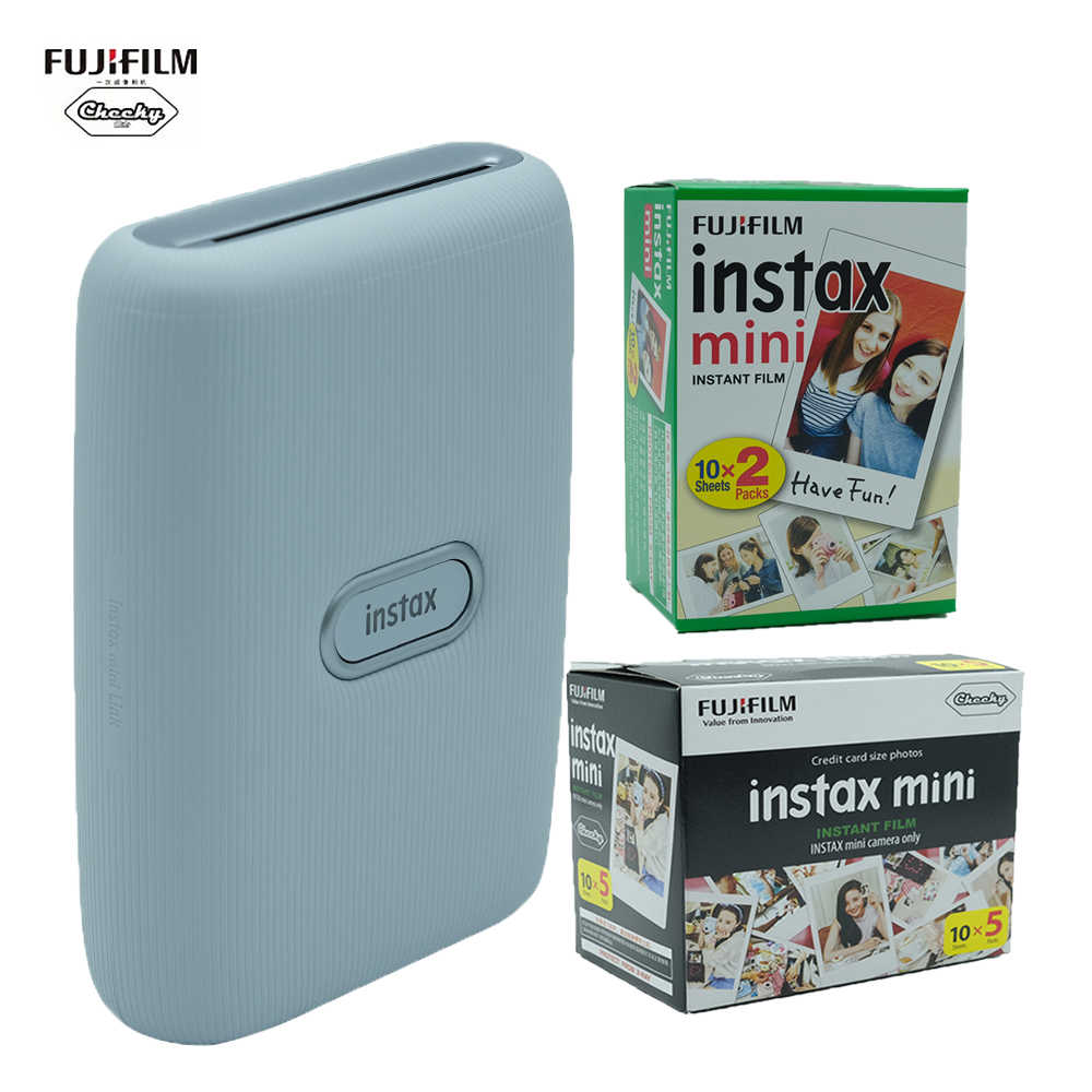 Fujifilm Instax وصلة صغيرة الهاتف الذكي ورق طباعة الصور فيلم طابعة آيفون سامسونج هواوي شاومي الهاتف المحمول طابعة فورية