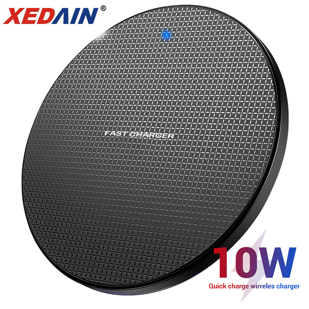 XEDAIN 10W Wireless Quick Charger for Samsung Galaxy S10 S9 S8 Note 10 USB Qi Charger title=