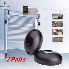 Beam Sensor Barrier-Detector Gate Entry-Alarm Infrared for 2-Pair Door Waterproof Single