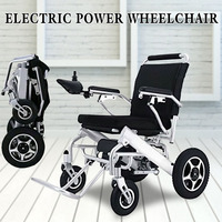 Lightweight Portable Folding Mobility Electric Power Wheelchair For Old Elderly Disabled Aged Travel Free Delivery