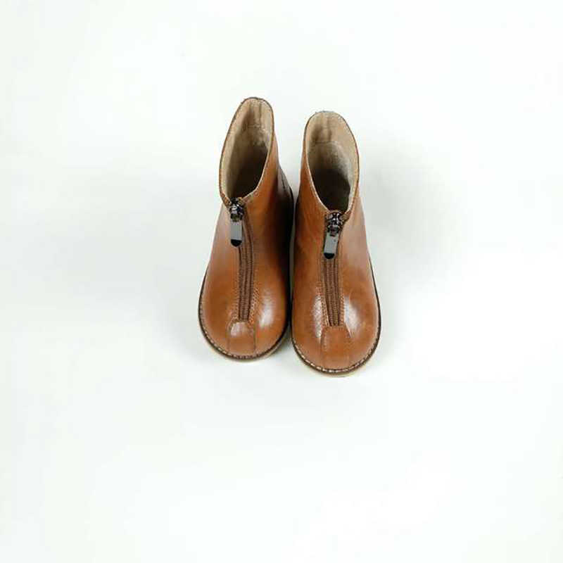 Dolakids kinderen schoenen herfst winter nieuwe stijl kinderen warme baby meisjes retro zachte bodem Martin laarzen 3- 6 jaar