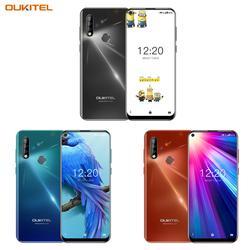 4G Mobile Phone OUKITEL C17 Android 9.0 Smartphone 6.35'' Face ID Fingerprint Octa Core 3GB 16GB 3900mAh Triple Camera MT6763 5