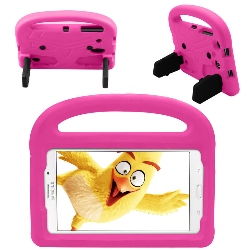 Kids EVA Foam Handle Stand Cover Case For Samsung Galaxy Tab A 8.0 2017 T380 SM-T380 T385 T377 T378 T387 Tab 4 8.0 T330 T331 #S