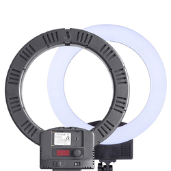 12 LED Ring Lamp 3000K-6000K Dimmable Ring Light 2M Stand for Live Broadcast Makeup Vlog Video Photos Studio Selfie Fill Light