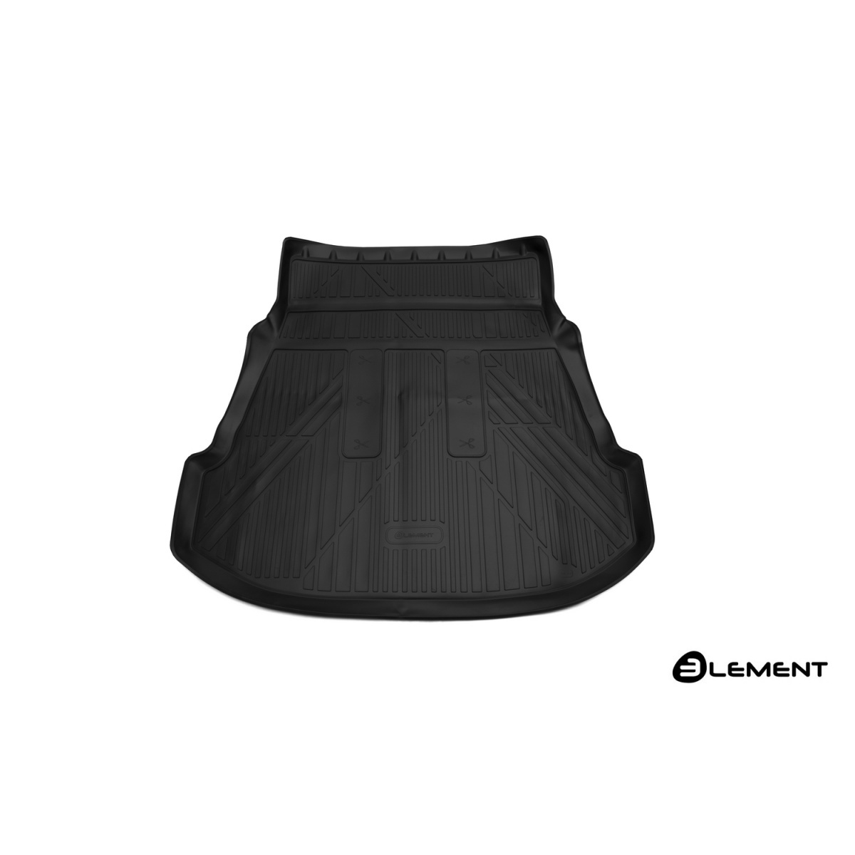 Коврик 3D в багажник For TOYOTA  Fortuner, 2017->, внед., 1 шт. (полиуретан)