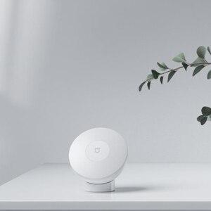 Image 2 - 2020 XIAOMI Mijia Nacht Licht 2 bluetooth version Einstellbare Helligkeit Infrarot Smart Menschlichen Körper & licht sensor für mijia app