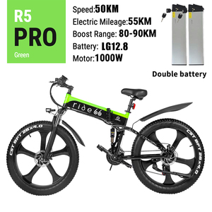 Electric bike 48V12.8ah 1000W Max 50km/h Dual battery electric mountain bike 4.0 fat tire Electric Bicycle beach e bike
