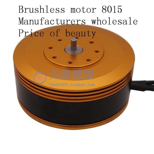 8015 KV140/KV160 Brushless מנוע מיוחד לגדול עומס Mulit ציר חקלאי הגנה Drone
