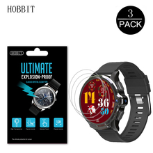 3Pcs 0.15mm Nano Explosion-proof Film For KOSPET Prime SE 1.6inch Smart Watch Screen Protector Anti-Scratch HD Clear Film