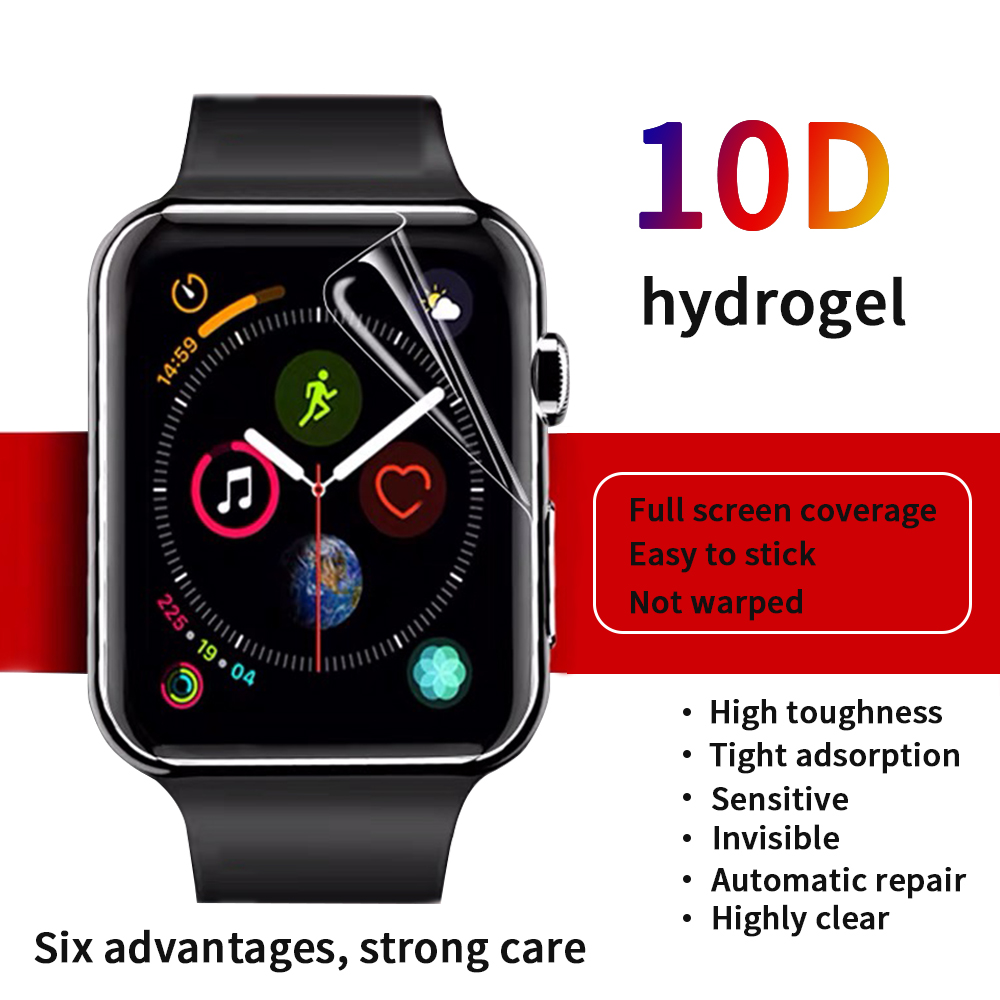 Screen Protector Clear Full Coverage Protective Film For IWatch 54 40MM/44MM For Apple Watch 321 38MM/42MM (Not Tempered Glass)