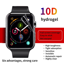 Protective-Film Apple Watch 54 Screen-Protector Not-Tempered-Glass 40MM/44MM Clear