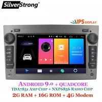 SilverStrong 7inch Android9.0 2 DIN CAR GPS for opel Vauxhall Astra Vectra Antara Zafira Corsa Car GPS Radio