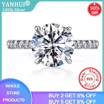 18K Gold Color Lab Diamond Rings for Women Luxury Anillos Wedding Bizuteria Fashion Jewelry Gemstone White Topaz 925 Silver Ring 925 sliver jewelry diamond ring for women anillos de wedding engagement bizuteria gemstone white topaz s925 silver ring with box