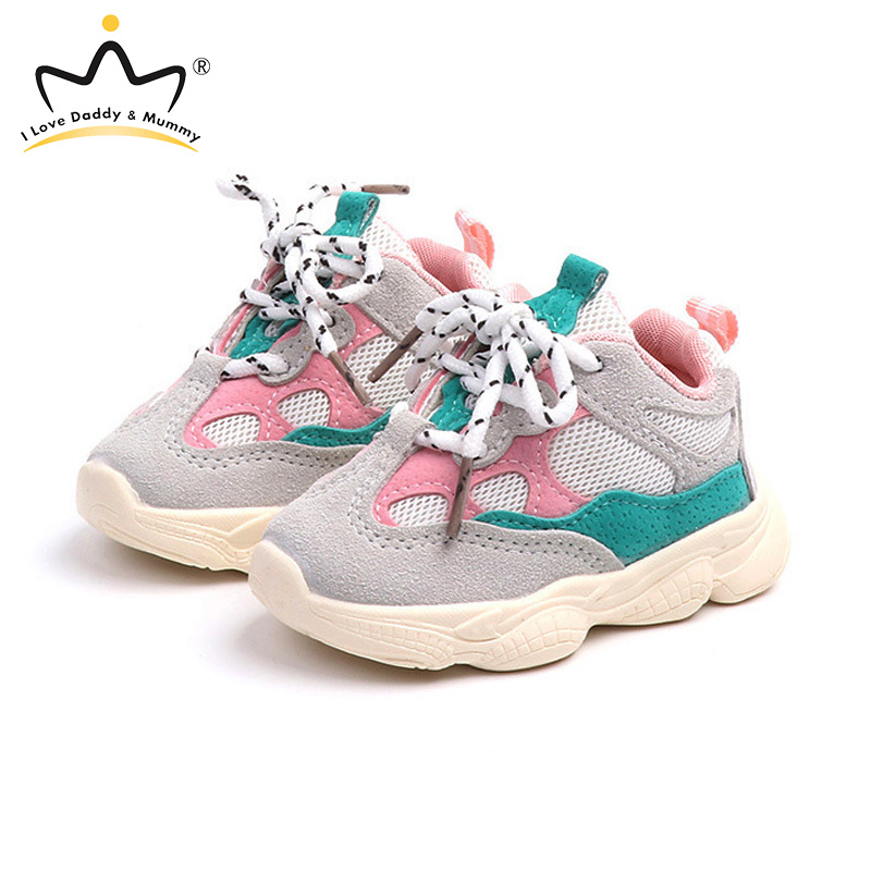 New Spring Summer Kids Shoes Quality Cotton Breathable Summer Girls Casual Shoes Children Sports Shoes