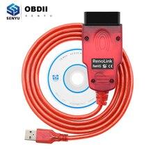 Renolink V1.87 OBD2 ECU 프로그래머 1.87 르노 에어백 재설정 OBD 2 OBD2 자동차 진단 자동 도구 ECM UCH 키 프로그래머 도구
