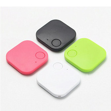 Pets Smart Mini GPS Tracker Anti-Lost Waterproof Bluetooth Tracer Keys Alarm Square Locator Realtime Finder Device Equipment