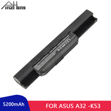 PINZHENG 5200mAh Laptop Battery For ASUS A32-K53 X43 K53 Series 6 Cells Laptop Bateria X44H X54H X84H X43B Laptop Battery kingsener 10 8v 5200mah a32 k53 battery for asus k43 k43e k43j k43s k43sv k53 k53e k53f k53j k53s k53sv a43 a53s a53sv a41 k53