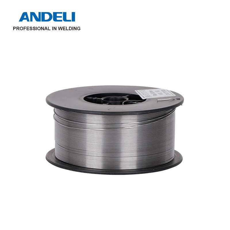 ANDELI Flux 코어 와이어 솔더 와이어 자체 차폐 No 가스 미그 와이어 1KG 1.0mm 탄소강 Gasless Mig 용접 와이어
