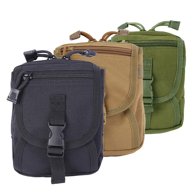 Hot Outside Molle Waist Bags Men Women Waist Pack Purse Mobile Phone Case Phone Running Bags