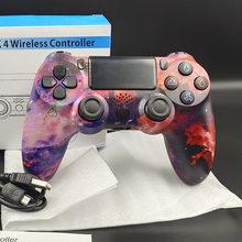 Para ps4 controlador sem fio bluetooth gamepad controle ps4 dualshock 4 usb com fio joystick para ps4 android playstation 4 console 3