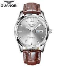 GUANQIN – montre mécanique pour hommes, mouvement automatique, Date semaine, japon, NH36, étanche, mode, horloge Relogio Masculino